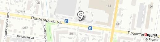 Городская диспетчерская служба по транспорту на карте Благовещенска