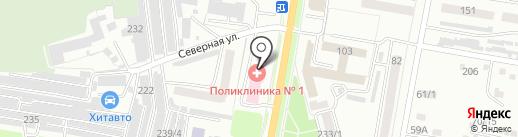 Медицинский центр на карте Благовещенска
