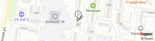 Beauty bar jay на карте Благовещенска