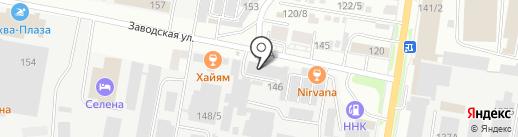 Табачная компания на карте Благовещенска