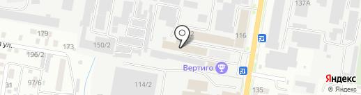 Фабрика окон на карте Благовещенска