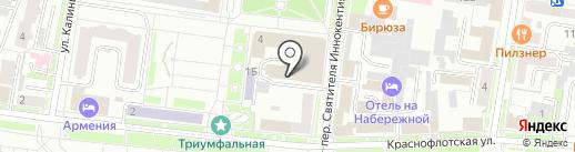 ДЮСШ №5 на карте Благовещенска