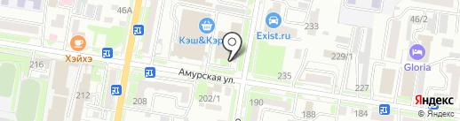 Колесо28 на карте Благовещенска