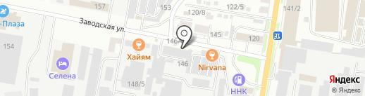 Магазин книг и канцелярских товаров на карте Благовещенска