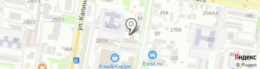 Салон компрессионного трикотажа на карте Благовещенска