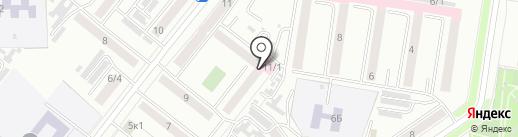Городская поликлиника №1 на карте Благовещенска