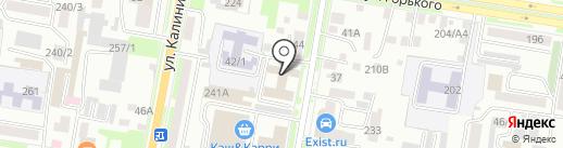 Отдел судебных приставов №1 по г. Благовещенску на карте Благовещенска