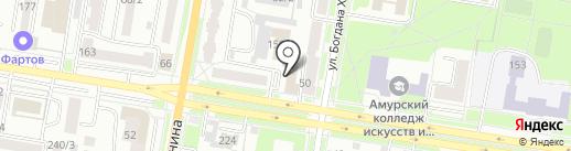 Автоматизация ДВ на карте Благовещенска