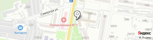 Маникюрный кабинет на карте Благовещенска