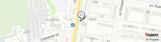 Сумитек Интернейшнл на карте Благовещенска