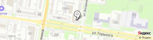 Электрон на карте Благовещенска