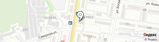 Джетта на карте Благовещенска