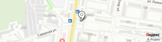 Всероссийское добровольное пожарное общество на карте Благовещенска