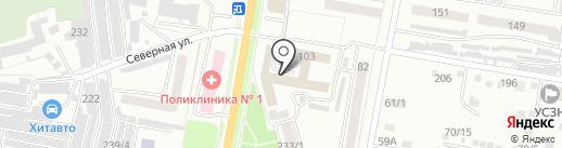 Амурская федерация авиамодельного спорта на карте Благовещенска