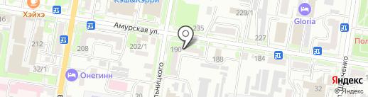 Алекс на карте Благовещенска