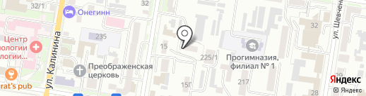 Аппартамент на карте Благовещенска