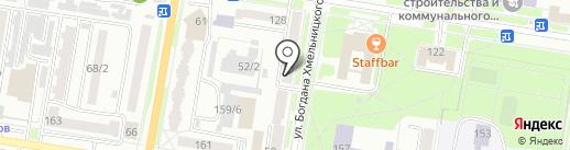 Почтовое отделение №11 на карте Благовещенска