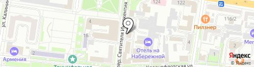 АмурТЭК на карте Благовещенска