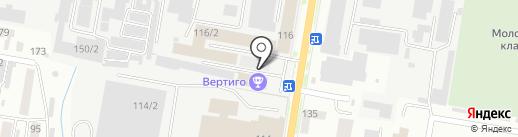 Бирс на карте Благовещенска