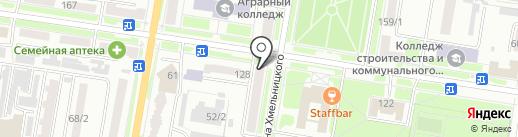 Нотариус Мечиков А.А. на карте Благовещенска