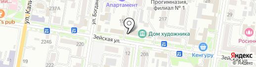Dдмитрий Dонцов и Партнеры на карте Благовещенска