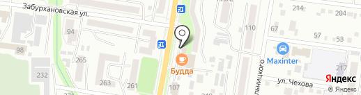 Строительная компания на карте Благовещенска
