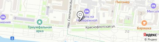 Благовещенский городской суд на карте Благовещенска
