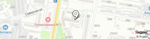 Оргтехсервис на карте Благовещенска