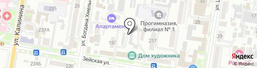 А-Менеджмент Сибирь на карте Благовещенска