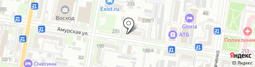 Анекс Тур на карте Благовещенска