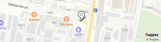 АвтоCoffee на карте Благовещенска