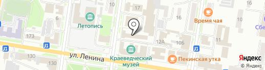 Омнибус на карте Благовещенска