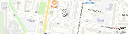 ФорсажАвто на карте Благовещенска