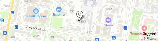 Первая грузовая компания на карте Благовещенска