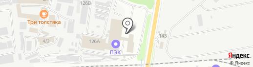 СТМ на карте Благовещенска