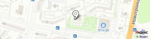 Сольвейг на карте Благовещенска
