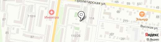 Продовольственный магазин №322 на карте Благовещенска