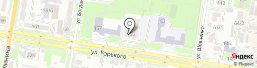 Лабиринт на карте Благовещенска