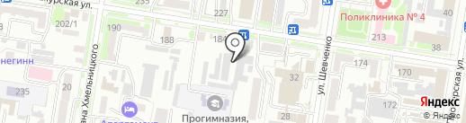 DeLuxe на карте Благовещенска