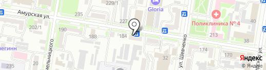 АйТи Сервис на карте Благовещенска