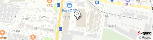 Магазин одноразовой посуды на карте Благовещенска