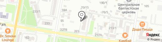 Городок на карте Благовещенска