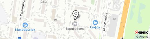 Амурский энергетик, ЧОУ ДПО на карте Благовещенска