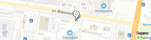 КАМАЗ на карте Благовещенска
