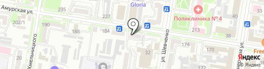 Мираж на карте Благовещенска