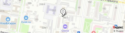Агентство Амурской области по привлечению инвестиций, АНО на карте Благовещенска