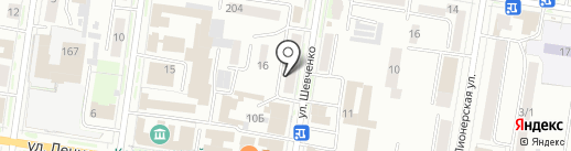 Живые Вина на карте Благовещенска