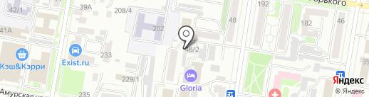 Амурское ипотечное агентство на карте Благовещенска