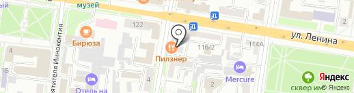 WebKit на карте Благовещенска