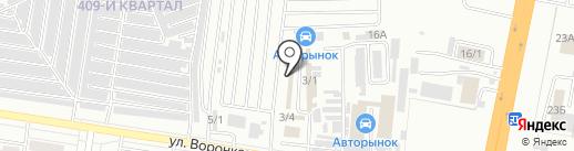 Сакура Авто на карте Благовещенска